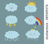 cute vector illustration of...   Shutterstock .eps vector #289349276