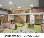 interior of day nursery  ... | Shutterstock . vector #289373660