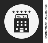 hotel icon | Shutterstock .eps vector #289380758