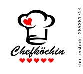 chefk chin  chef cuisine  5... | Shutterstock .eps vector #289381754