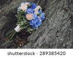 Bouquet Wedding Flowers Blue...