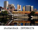 melbourne skyline taken from... | Shutterstock . vector #289386176