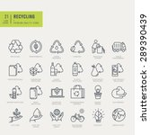 thin line icons set. icons for... | Shutterstock .eps vector #289390439