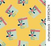 shopping present flat icon... | Shutterstock .eps vector #289392674