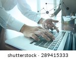 business documents on office... | Shutterstock . vector #289415333