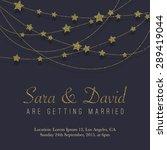 vintage card  for invitation or ...   Shutterstock .eps vector #289419044