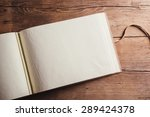 photoalbum with an empty space... | Shutterstock . vector #289424378