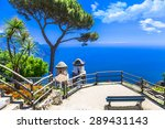 beautiful  ravello village ... | Shutterstock . vector #289431143