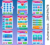 game ui. complete set of...