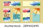 set of sale badges with...   Shutterstock .eps vector #289442690