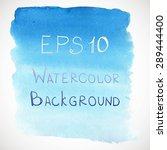 vector watercolour background | Shutterstock .eps vector #289444400
