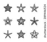 shape set of various sea...   Shutterstock .eps vector #289446524