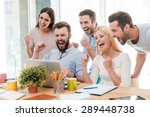 everyday winners. group of... | Shutterstock . vector #289448738