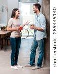 coffee break. full length of...   Shutterstock . vector #289449140