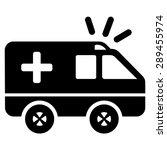 ambulance vector icon | Shutterstock .eps vector #289455974