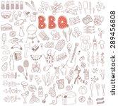 vector set of hand drawn doodle ...   Shutterstock .eps vector #289456808