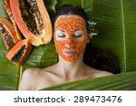 beautiful caucasian woman...   Shutterstock . vector #289473476