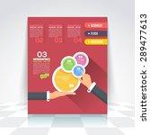 flat style business... | Shutterstock .eps vector #289477613