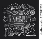restaurant cafe menu.... | Shutterstock .eps vector #289480910