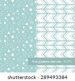 seamless geometric pattern... | Shutterstock .eps vector #289493384