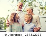 family  happiness  generation ... | Shutterstock . vector #289512338
