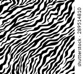 Tiger Pattern. Vector Seamless...