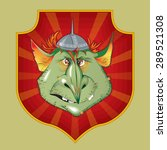 image impudent goblin on the... | Shutterstock .eps vector #289521308