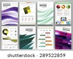abstract vector backgrounds and ... | Shutterstock .eps vector #289522859