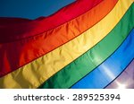 Gay Pride Rainbow Flag Fills...