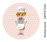 chef theme elements | Shutterstock .eps vector #289537103