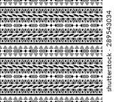 ethnic seamless pattern....   Shutterstock .eps vector #289543034