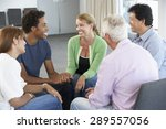 meeting of support group | Shutterstock . vector #289557056