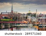 annapolis  maryland  usa state... | Shutterstock . vector #289571360