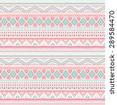tribal ethnic seamless stripe... | Shutterstock .eps vector #289584470