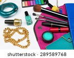 fashion concept. colorful make... | Shutterstock . vector #289589768