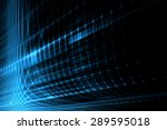 abstract science or technology... | Shutterstock . vector #289595018
