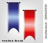 ribbons | Shutterstock .eps vector #289633550