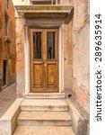 entrance of an apartment... | Shutterstock . vector #289635914