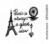 conceptual handwritten phrase... | Shutterstock .eps vector #289636844