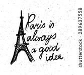 conceptual handwritten phrase... | Shutterstock .eps vector #289637558