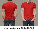 t shirt template | Shutterstock . vector #289648589