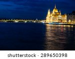 Budapest Cityscape At Night....