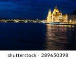 Budapest Cityscape At Night....