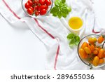 sicilian red and yellow cherry... | Shutterstock . vector #289655036