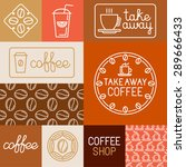 vector set of design elements ... | Shutterstock .eps vector #289666433