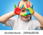 child  education  human hand. | Shutterstock . vector #289668038