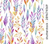 seamless pattern consisting of... | Shutterstock .eps vector #289674569