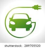 energy design over white... | Shutterstock .eps vector #289705520