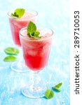 watermelon smoothies | Shutterstock . vector #289710053