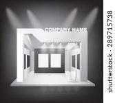 blank exhibition trade design...   Shutterstock .eps vector #289715738
